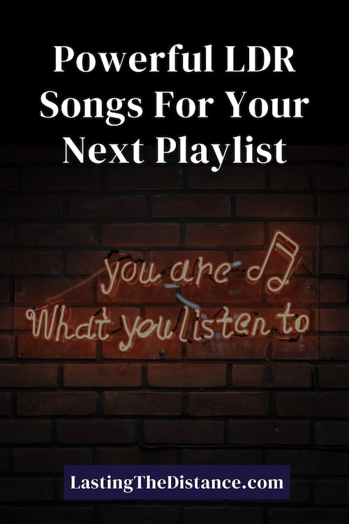 long distance relationship songs pinterest image