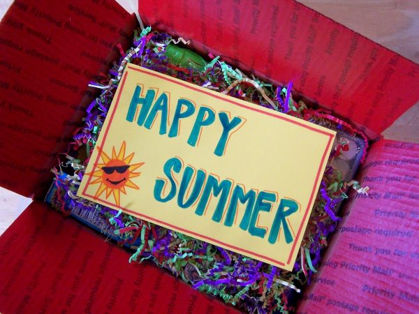 summer care package ideas