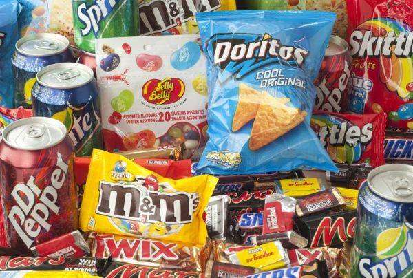 junk food care package ideas