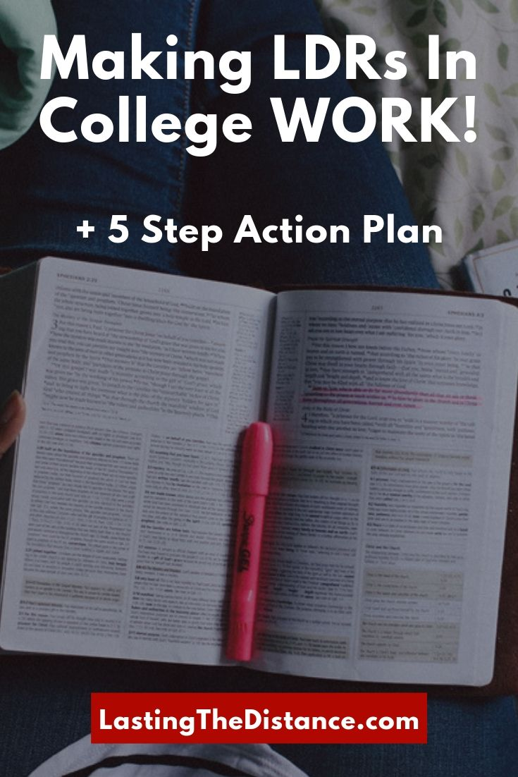 College LDRs in 2019: 5 Important Steps to Making it WORK!