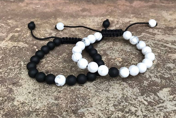 his and hers beaded bracelets