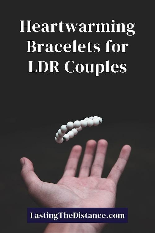 long distance bracelets pinterest image