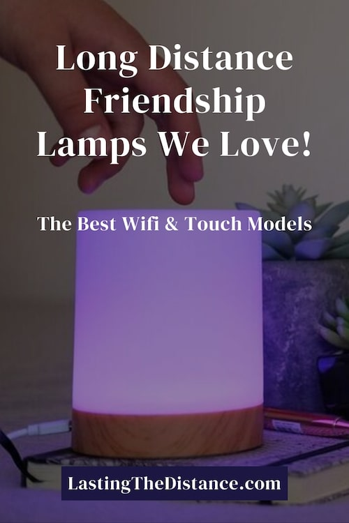 long distance friendship lamps pinterest image