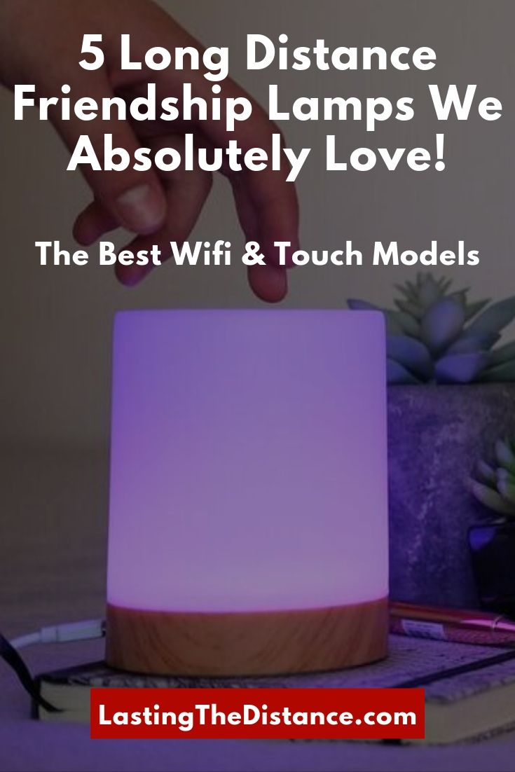 long distance relationship friendship lamps