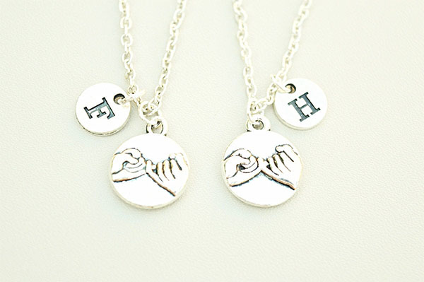 Pinky Promise His & Hers Necklaces