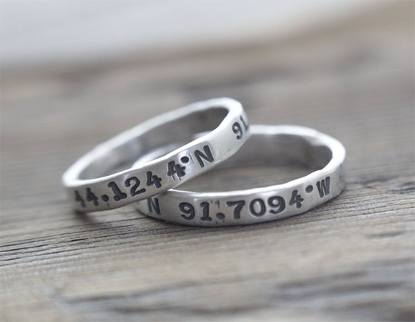 his hers coordinates rings