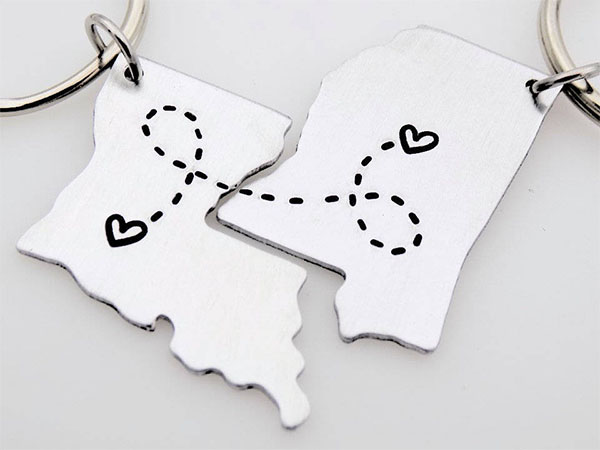 state to state keychains