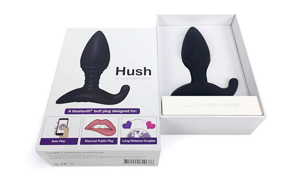 hush butt plug by lovense