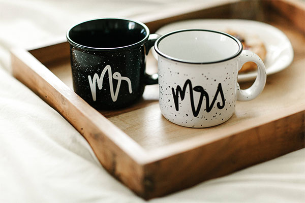 mr and mrs couples mugs