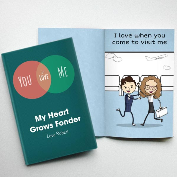 lovebook personalized books for long distance couples