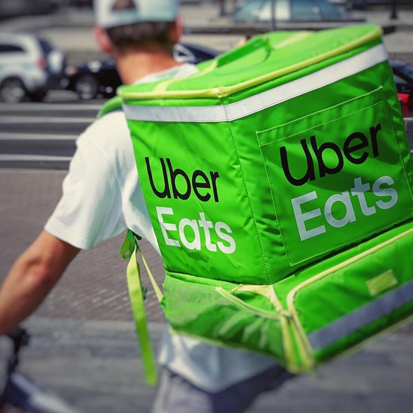 uber eats food to someone
