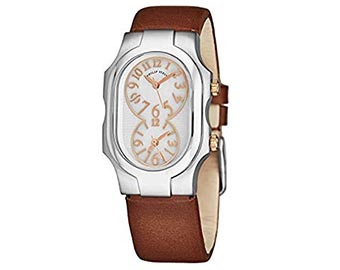 61_Philip Stein Signature Small Womens Dual Time Watch