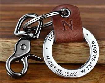 long distance relationship keychains gift