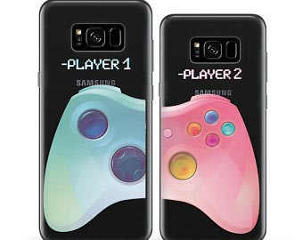 gamer couple phone cases
