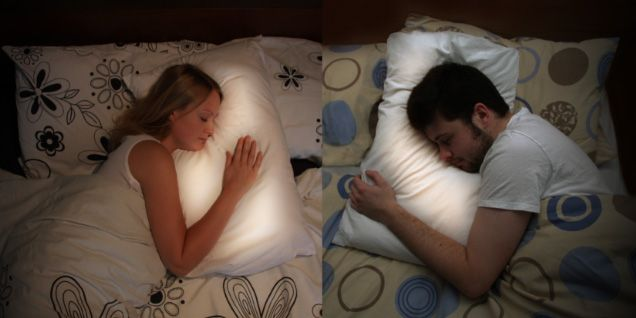 long distance pillows that light up