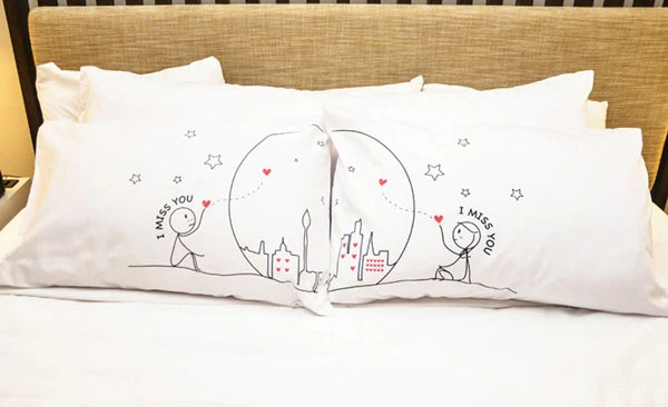 miss us together couples pillows by boldloft