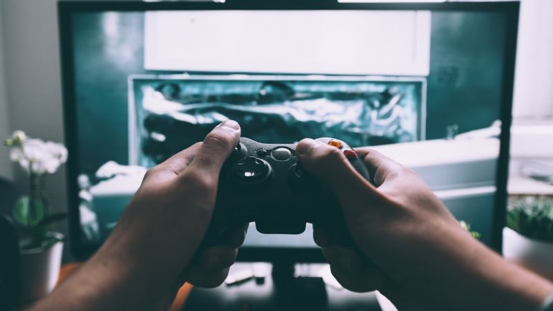 Stay connected in a long distance friendship by playing online games together.
