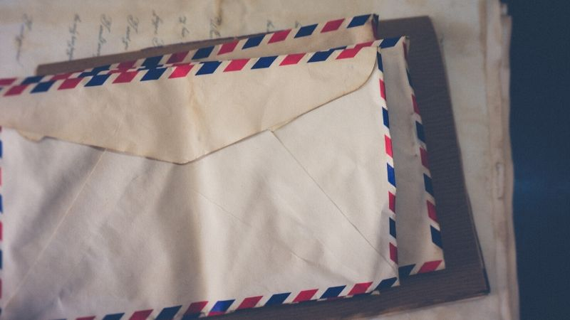 Send physical letters to grandchildren