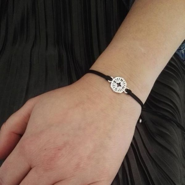 Compass Charm Friendship Bracelets by Design By Symphony