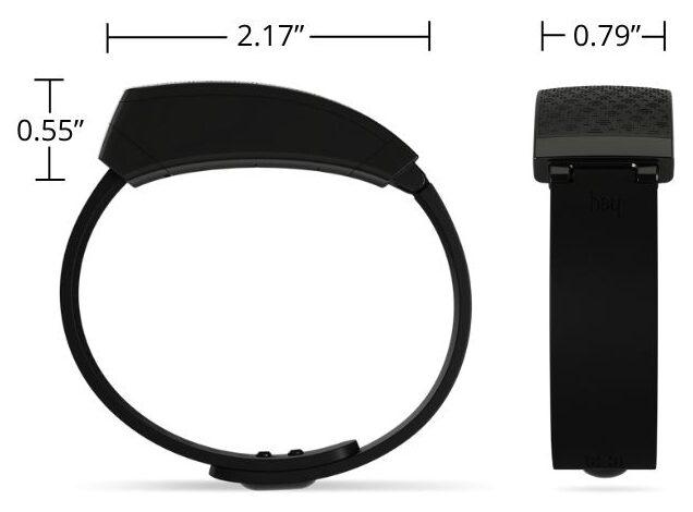 Hey bracelet specs