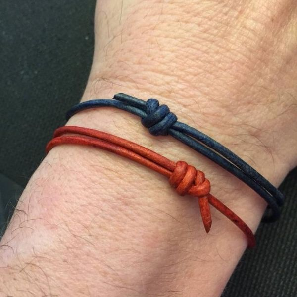 Leather Cord Best Friend Bracelets by Jennifer Jade
