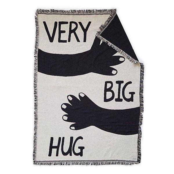 Very Big Hug Throw Blanket by Kerry Stokes