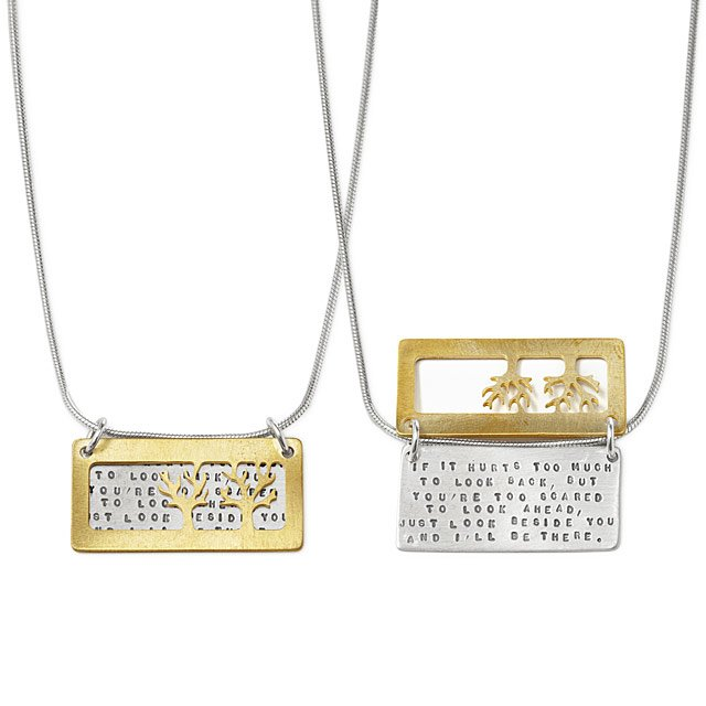 i'll be there best friend necklaces