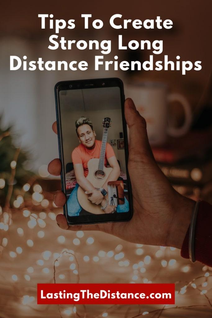 long distance friendship advice