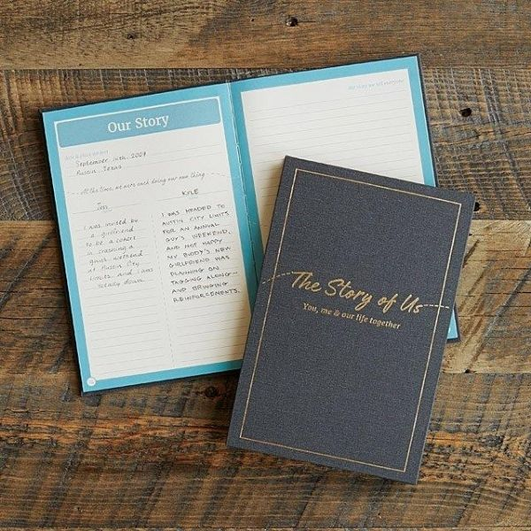 """The Story of Us"" Couples Journal"