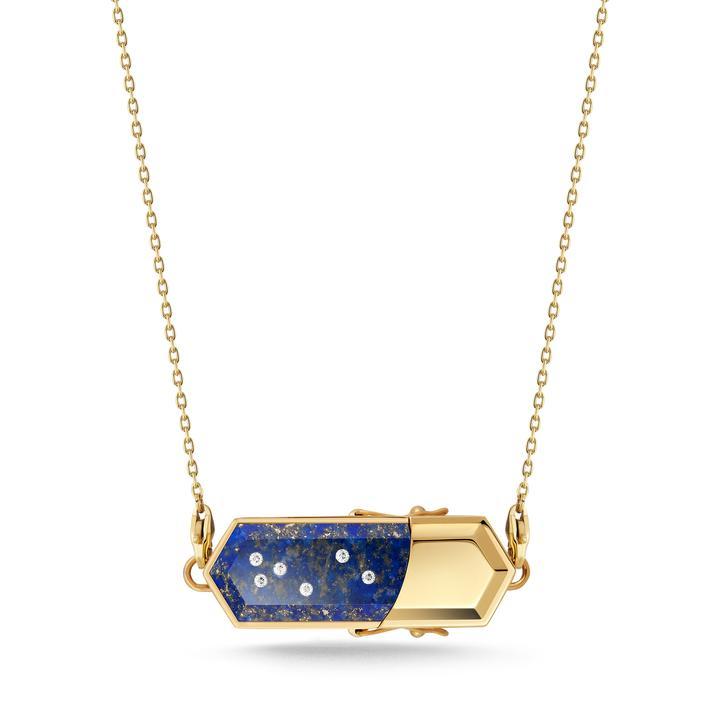 talsam lapis lazuli necklace