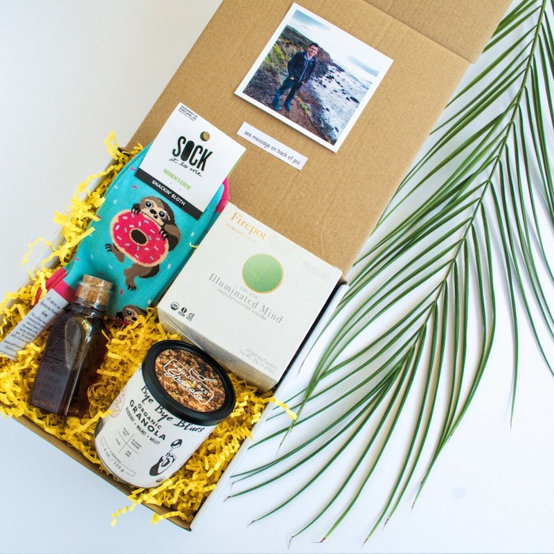long distance relationship care packages for him and her by huneybox
