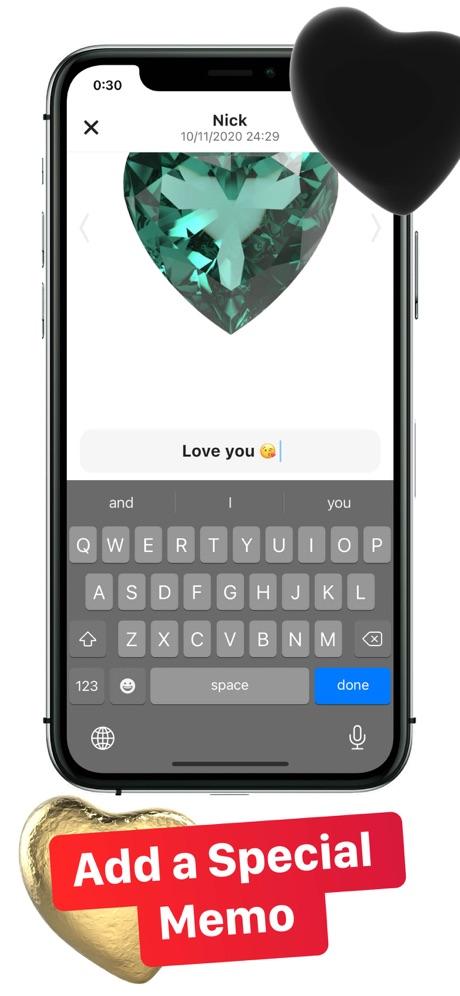 hearty app send memo