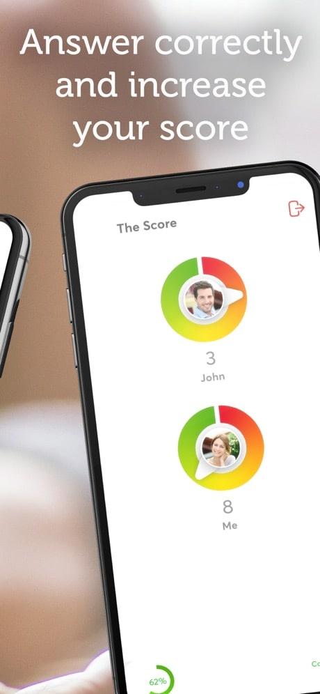 ipassion app score dashboard