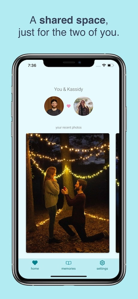 twig journal app for long distance relationships