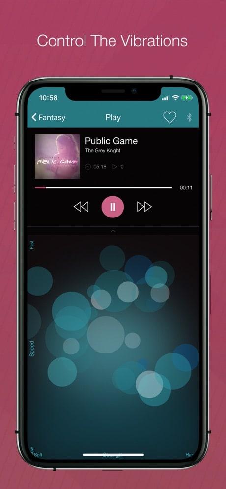 vibease app control device