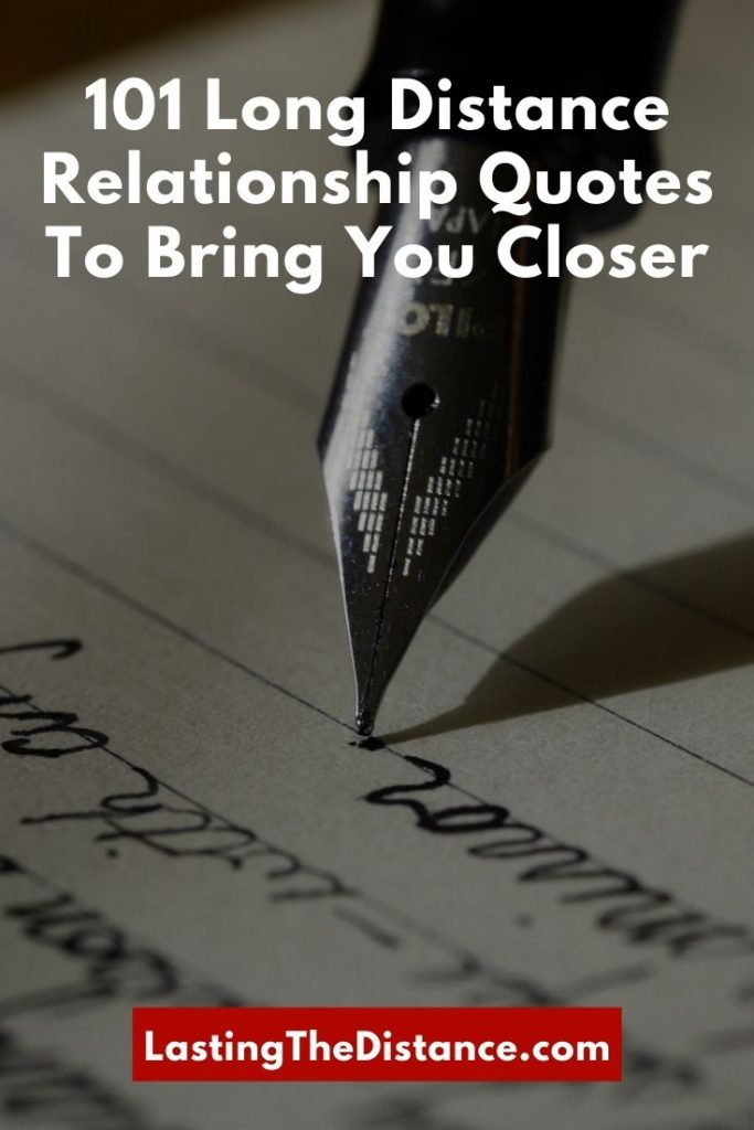 long distance relationship quotes pinterest image
