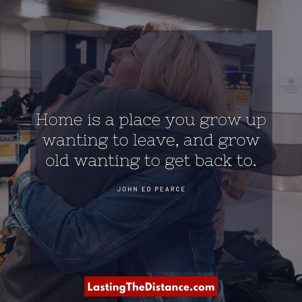 missing home quote instagram image