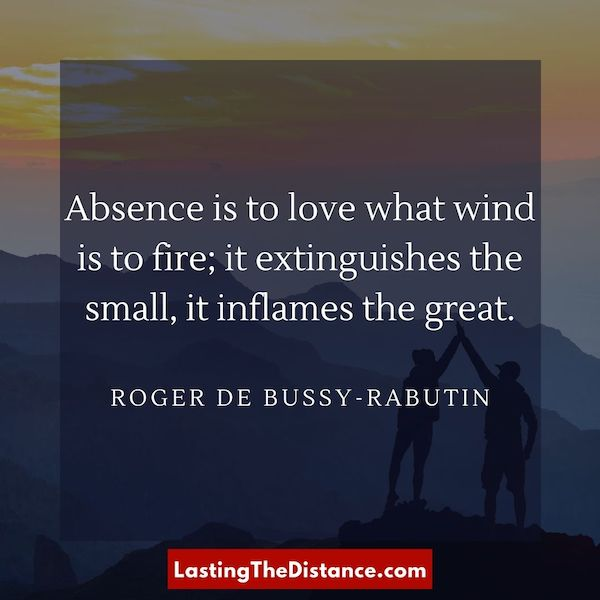 surviving long distance relationship quotes instagram image