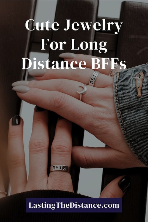 long distance friendship jewelry pinterest image