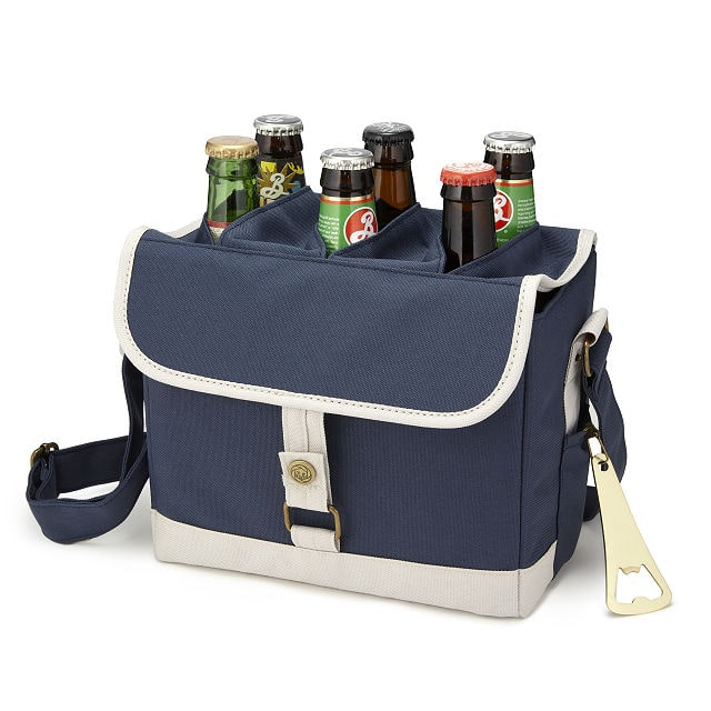 canvas beer caddy for dad