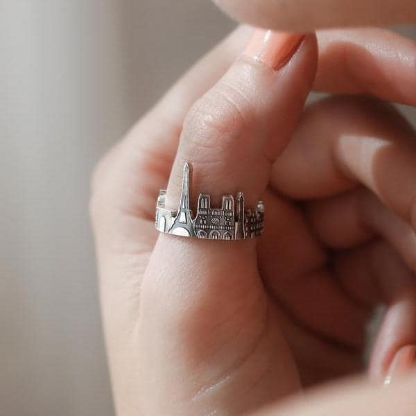 city scape rings