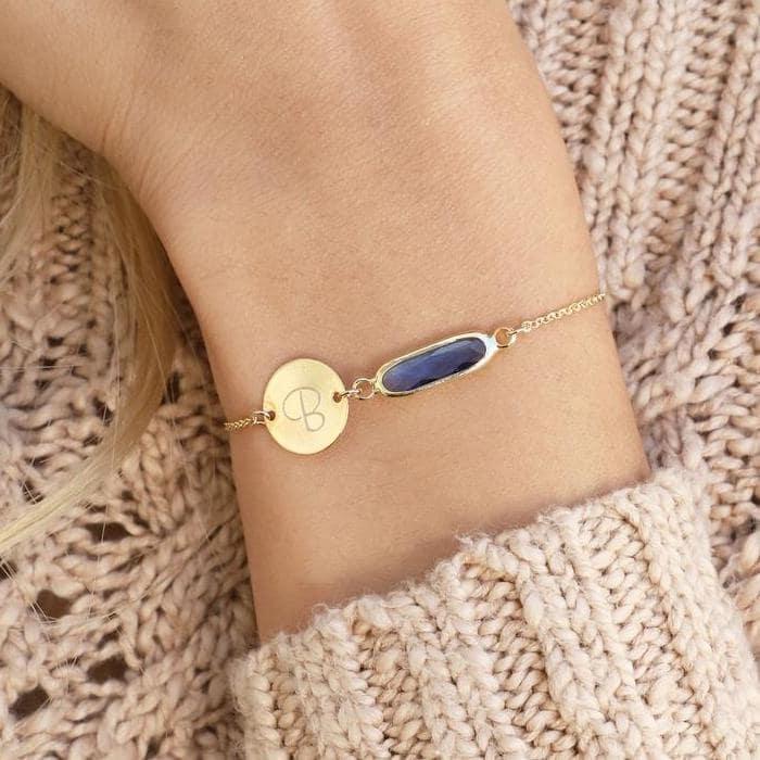 custom birthstone friendship bracelets