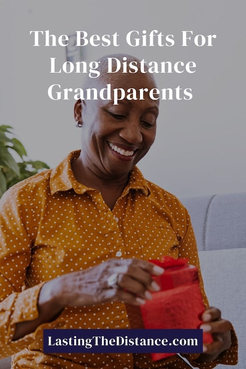 gifts for long distance grandparents pinterest image