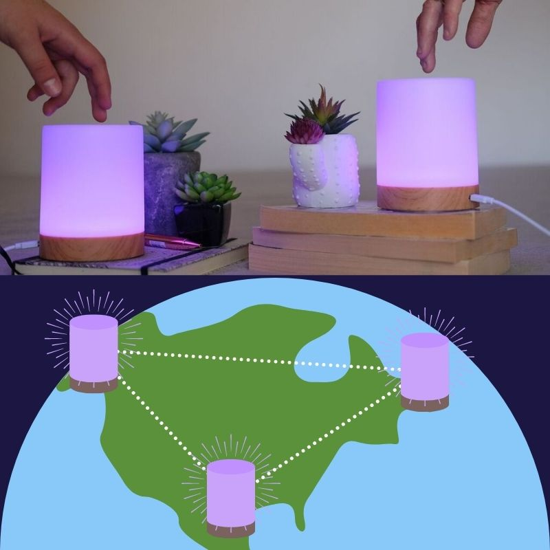 long distance lamps for big families