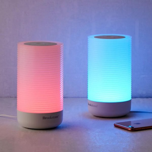 brookstone touch lamps set of two