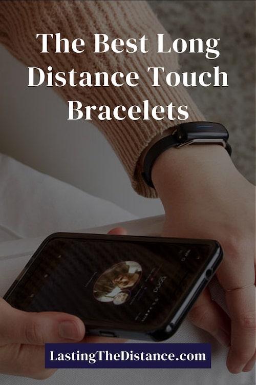 long distance touch bracelets pinterest image