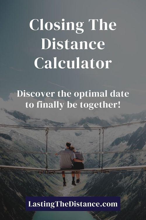 closing the distance calculator